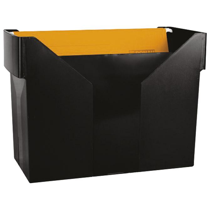 Kutija za mape viseće +5mapa Donau 7422001PL-01 crna (000005182)