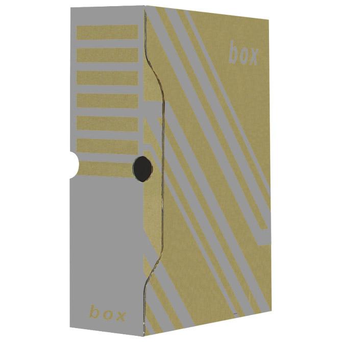 Kutija arhivska 29,7x33,9x 8cm Fornax smeđa (000010949)