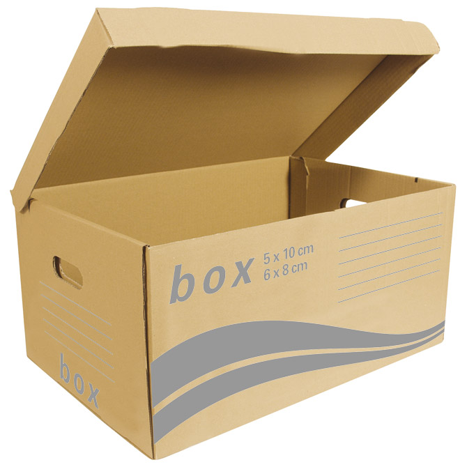 Kutija arhivska-kontejner za arhivske kutije Fornax smeđa (000013385)